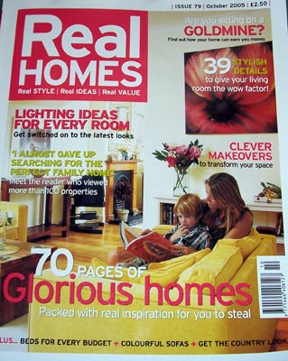 Real Homes October 2005 Front Cover