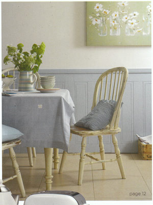 Maggies painting used in the BBC Good Homes magazine - Weekend Projects Supplement