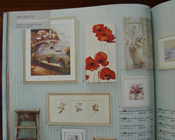 Poppies painting in the 2007 Laura Ashley Catalogue