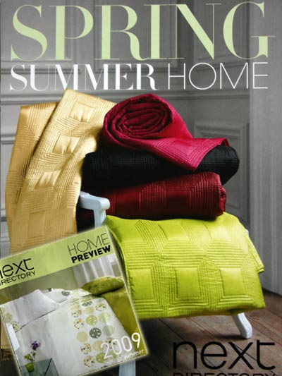 Next Catalogue 2009 Home Preview Directory front page
